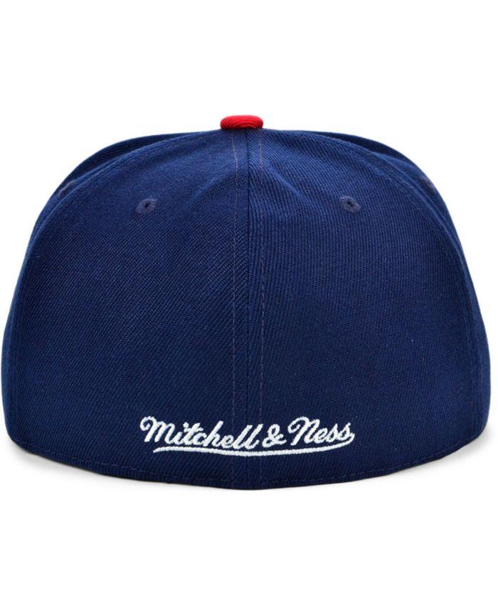 Mitchell & Ness Houston Rockets Wool 2 Tone Fitted Cap & Reviews - Sports Fan Shop By Lids - Men - Macy's