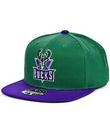 Milwaukee Bucks Wool 2 Tone Fitted Cap