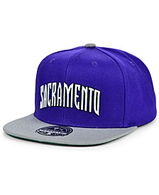Sacramento Kings Wool 2 Tone Fitted Cap