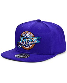 Utah Jazz Team Ground Fitted Cap