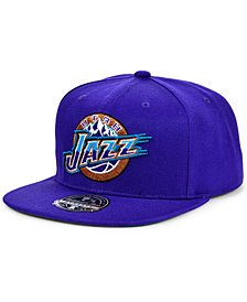 Mitchell & Ness Utah Jazz Team Ground Fitted Cap