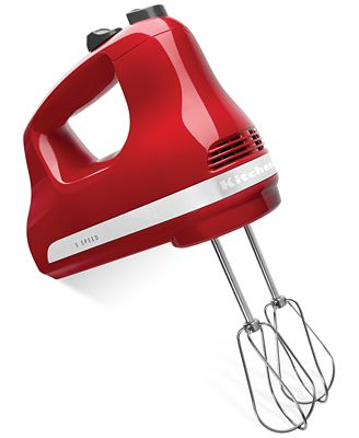 Kitchenaid Khm512 5 Speed Hand Mixer - Electrics - Kitchen - Macy'S