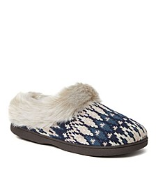 Women's Claire Chunky Cable Knit Clog Slippers