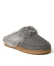 Women's Allison Microsuede Closed Scuff Slippers