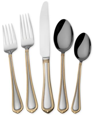 towle living flatware 180 vienna 45 pc set service for 8