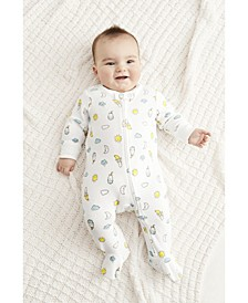 Baby Girls or Boys 1-Pc. Printed Coverall