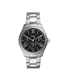 Men's Chapman Multi-Function Silver-Tone Bracelet Watch 42mm
