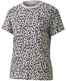 Puma Women's Classics Cotton Printed T-Shirt