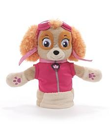 "GUND Skye Hand Puppet Plush Stuffed Animal Dog, Pink, 11"""