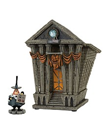 Halloween Town City Hall St/2 Figurines