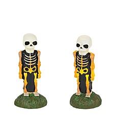 Lit Skeleton Yard Decor Figurines