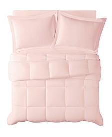 Antimicrobial  Down Alternative 2 Piece Comforter Set, Twin/Twin Xl