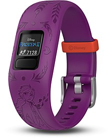 Kid's vivofit jr. 2 Anna Purple Silicone Strap Touchscreen Smart Watch 43mm