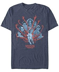 Men's Stranger Things Demogorgan Billy Poster Short Sleeve T-Shirt