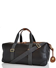Lynton Leather Diaper Bag