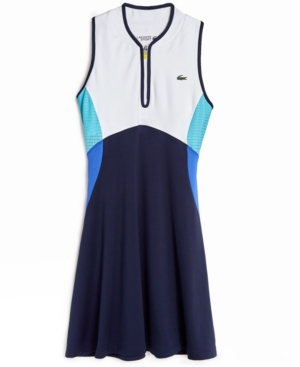 Lacoste SPORT COLORBLOCKED SLEEVELESS DRESS