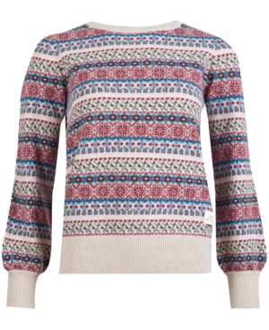 Barbour POPLARS PRINTED KNIT SWEATER