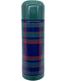 Green Plaid Insulated Bottle, Created for Macy's