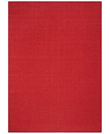MSR9501Q Red 5' x 7' Area Rug