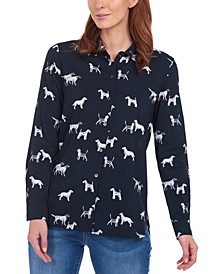 Safari Dog Print Shirt