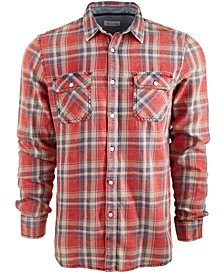 Men's Dave Plaid Shirt, Created for Macy's