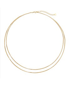 14K Gold Plated Emma Wrap Necklace