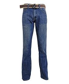 Men's Straight Leg Regular Fit Fashion Jeans