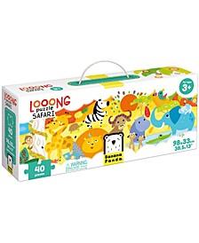 Looong Puzzle - Safari- 40 Pieces