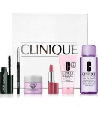6 pc. Great Skin, Great Look Clinique Kit - $10 with any Macys.com purchase! (A $73 value!)