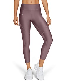 Women's Shine HeatGear® Perforated Ankle Leggings