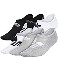 6-Pk. Trefoil Superlite No-Show Women's Socks