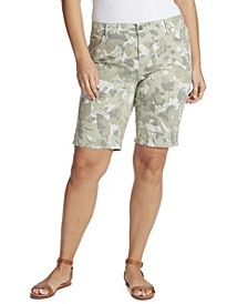 Women's Plus Size Midrise Bermuda Short