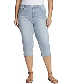 Women's Plus Size Amanda Capri