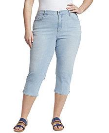 Gloria Vanderbilt Women's Plus Size Amanda Capri