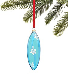 Hawaii Blue Surf Board Ornament, Created for Macy's