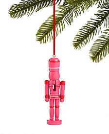 Merry & Brightest Pink Nutcracker Ornament, Created for Macy's