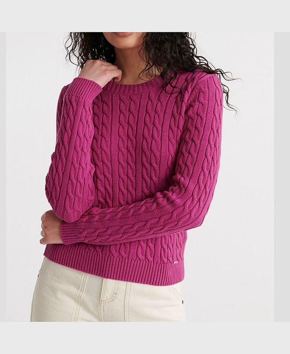 Superdry Women's Becky Cable Knit Jumper