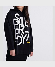 Women's Edit Oversized Graphic Hoodie