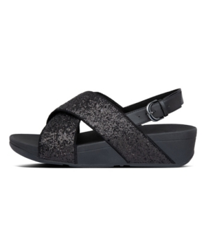 Fitflop FITFLOP WOMEN'S LULU GLITTER BACK-STRAP SANDAL WOMEN'S SHOES