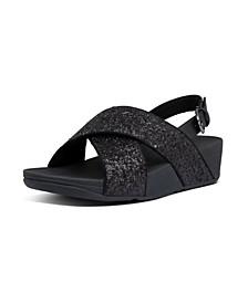Women's Lulu Glitter Back-Strap Sandal