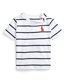 Baby Boy Cotton Jersey Crewneck Tee