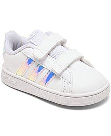 Toddler Girl's Grand Court Stay-Put Closure Casual Sneakers from Finish Line