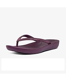 Women's Iqushion Sparkle Flip-Flop Sandal