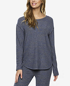 Felina Brushed Jersey Loungewear Top