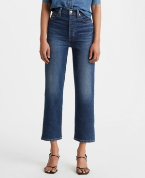 Levi's RIBCAGE STRAIGHT-LEG ANKLE JEANS