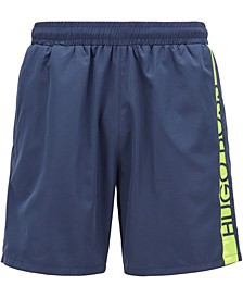 BOSS Men's Dolphin Medium-Length Swim Shorts