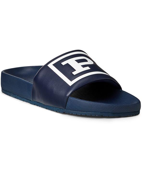 Polo Ralph Lauren Men's Cayson Pool Slide Sandals