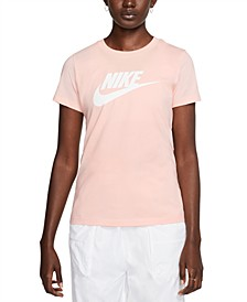Women's Sportswear Cotton Logo T-Shirt