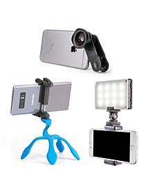 Smart Lens Wide Macro Plus Smart Light Plus Splat Tripod