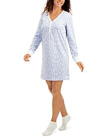 Sleepshirt & Socks 2pc Set, Created for Macy's